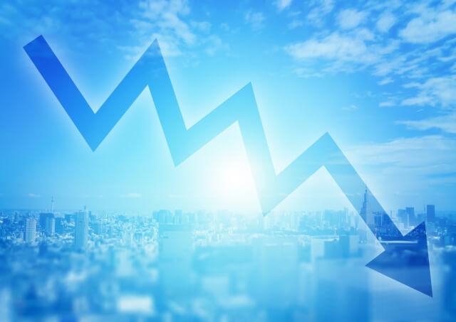 地価が下がった!資産価値下落リスク