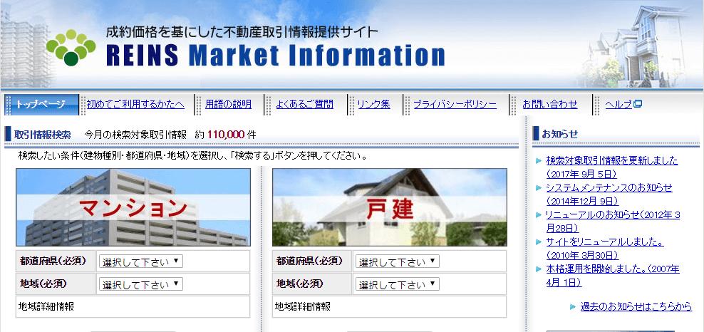 レインズマーケットインフォメーション